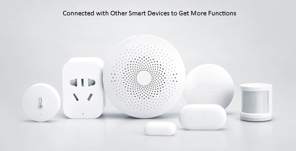 Original Xiaomi Smart Home Multifunctional Gateway Remote Control Online Radio- White