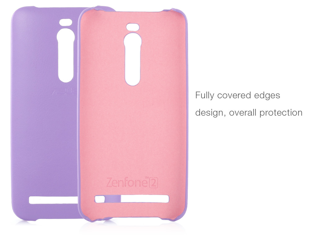 Original ASUS PU Leather Back Case Protective Shell for ZenFone2