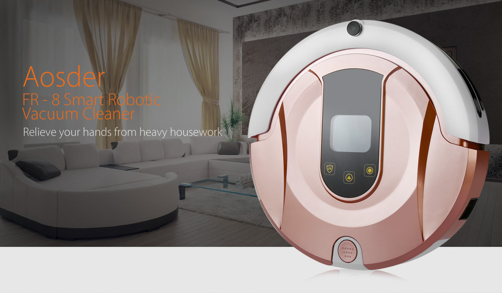aosder fr 8 smart robotic vacuum cleaner cordless sweeping cleaning machine mopping - Robotic Vacuum Cleaner