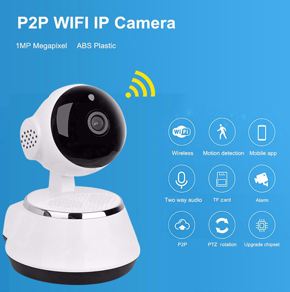 Mini WiFi 720P Smart IP Camera Home Security System -$17.39 Online ...