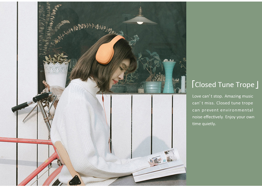 Original Xiaomi Headphones Built-in Mic- Orange