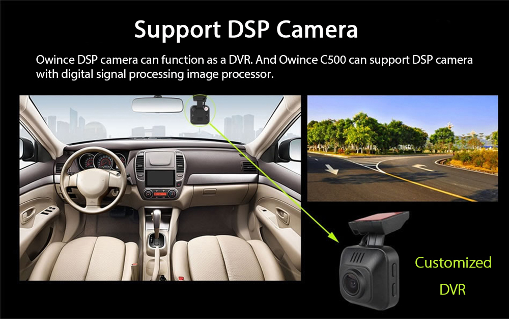 Ownice C500 Ol 7002f Android 6 0 Car Navigation With Dvr 219 99