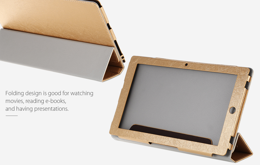 11.6 inch PU Leather Protective Case Full Body Stand Design for Teclast Tbook 16 Power / Tbook 16 S