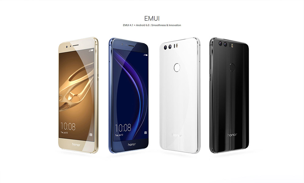 Huawei honor 8 4g smartphone 41664 free shippinggearbest product notes 1 download your favorite apps through the google play store or market installed 2 note this smart phone is designed only to work with the fandeluxe Images