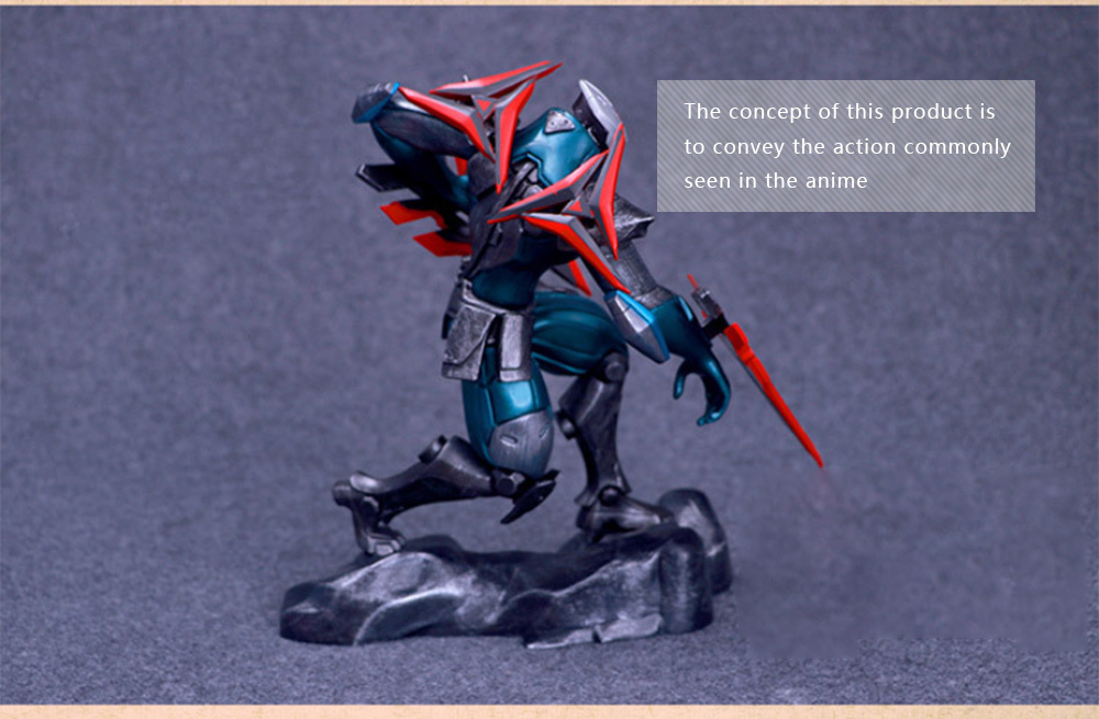 BEILEXING PVC Figure Model Online Video Game Figurine Toy - 11.02 inch- Colormix
