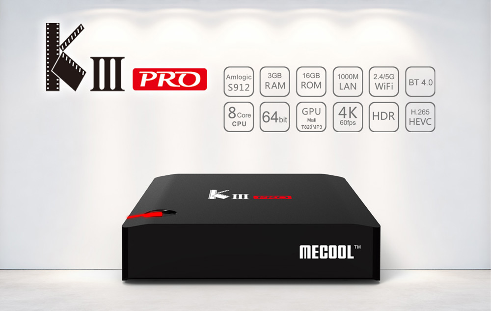 KI, KII, KIII TV Box DVB S2+DVB T2 Amlogic S905, S912    | RDI Boards