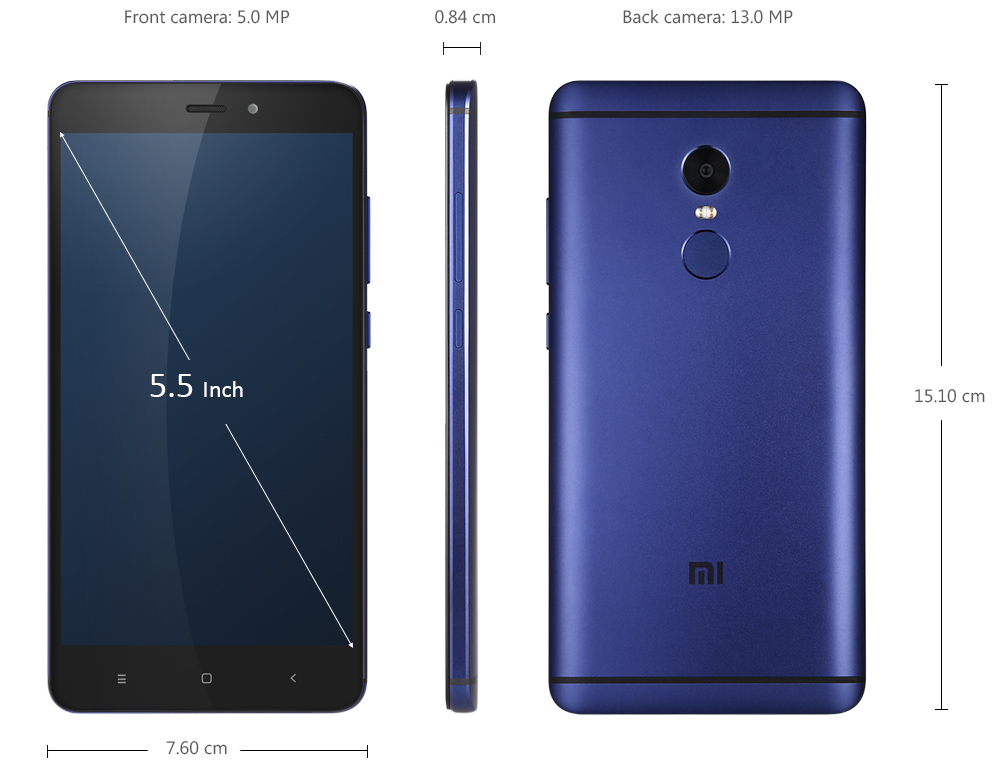 xiaomi redmi note 4 4g phablet - $187.10 free shipping|gearbest