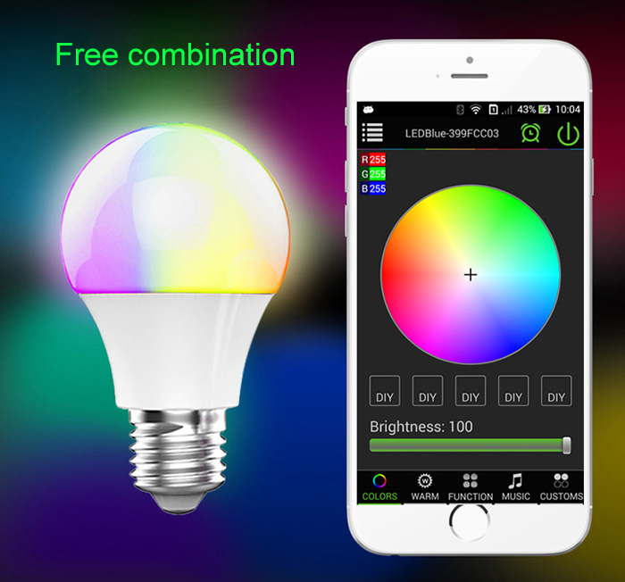 Magic Blue UU Bluetooth Bulb E27-$8.99 Online Shopping| GearBest.com