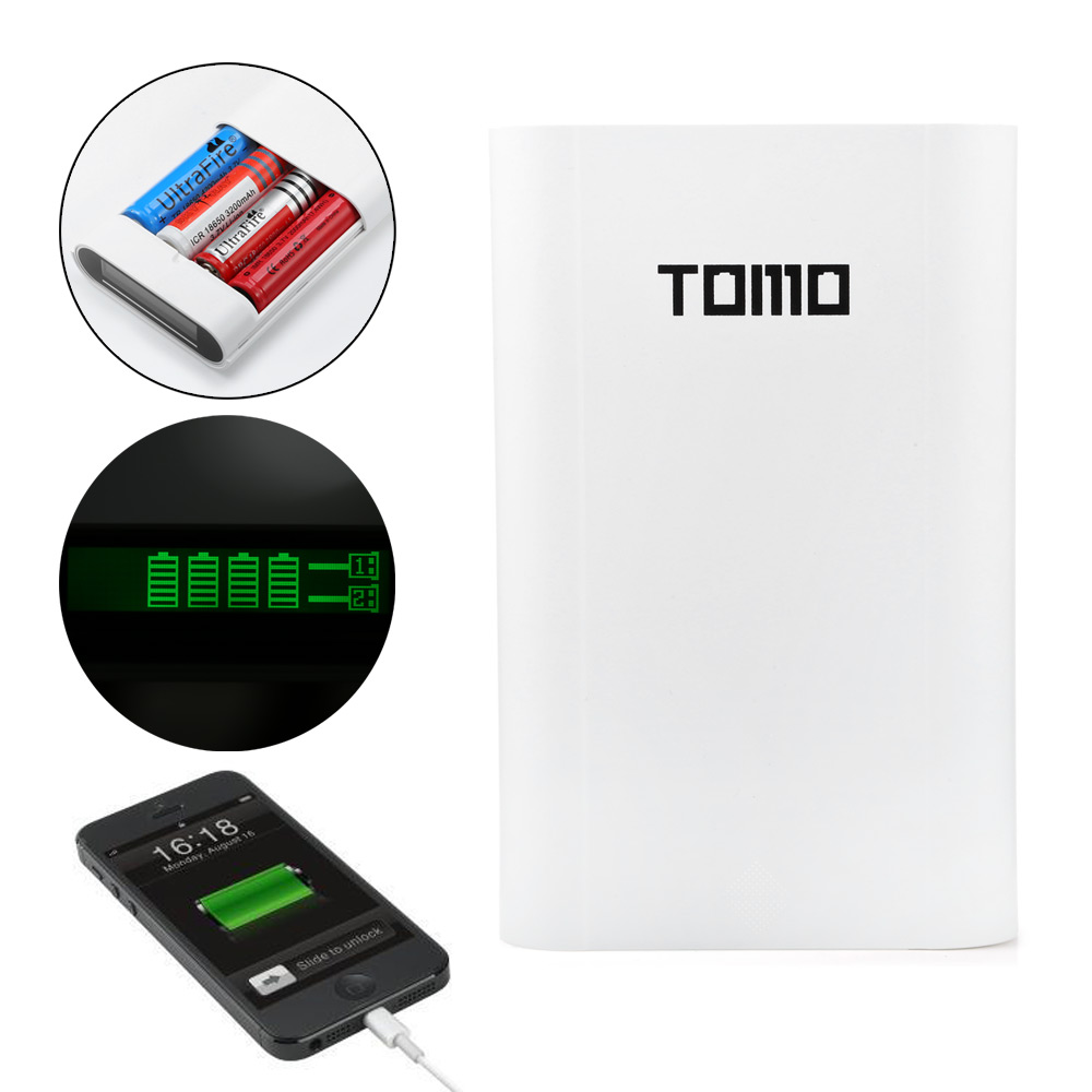 Tomo V8 4 18650 Battery Charger 1319 Free Shipping Thbelectronics Charging Your Cell Phone Home Made Circuit Package Contents 1 X Usb Cable