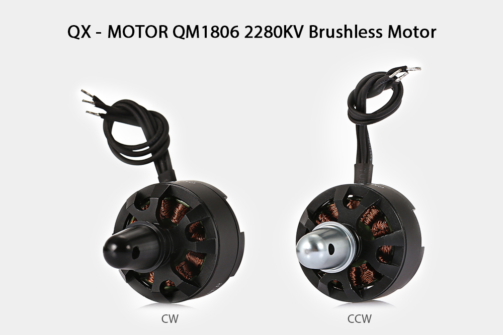 QX - MOTOR QM1806 2280KV Brushless Motor for RC Racing Drone DIY