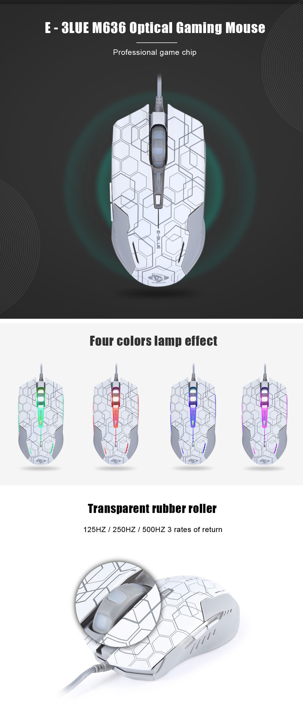 E 3lue M636 Optical Gaming Mouse Star Edition 1442 Free Iron Man Game Wireless Package Contents 1 X English Manual
