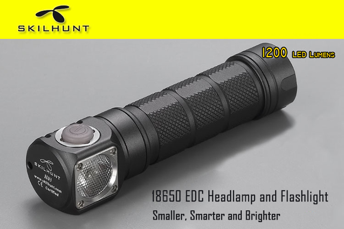 Skilhunt H03 LED Headlamp Coupon Code and Review 2018