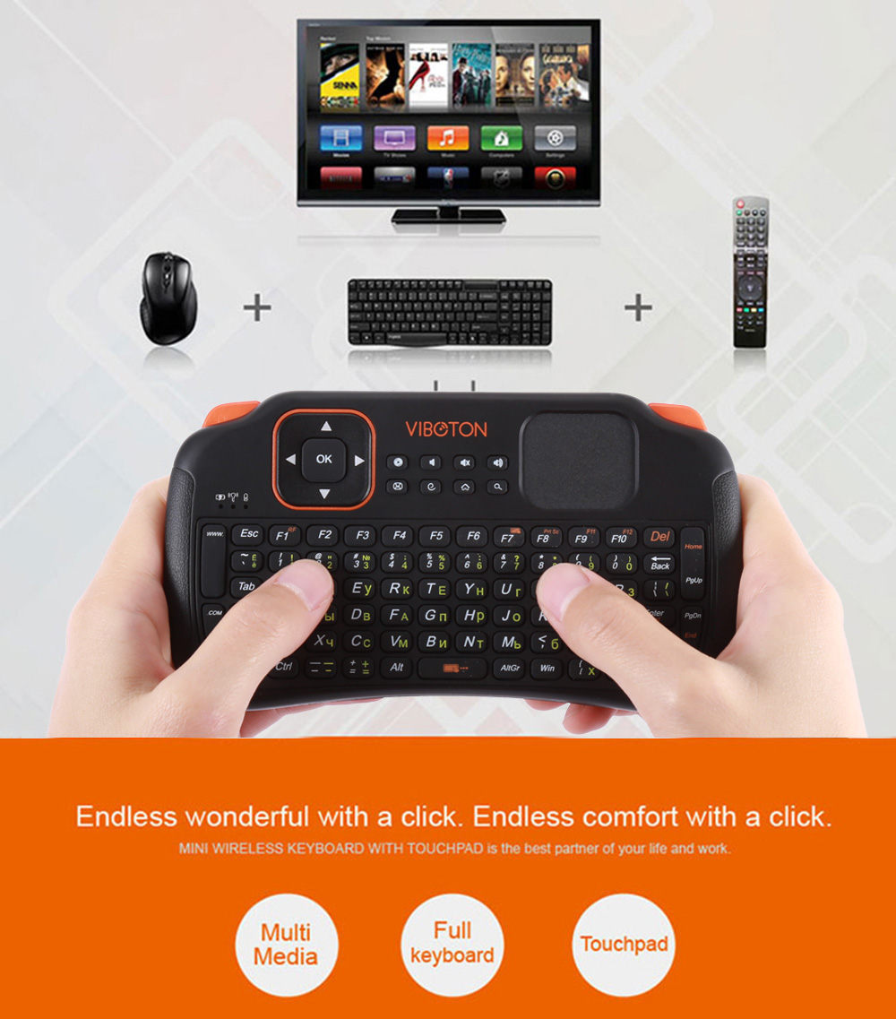 mini wireless keyboard with touchpad user manual