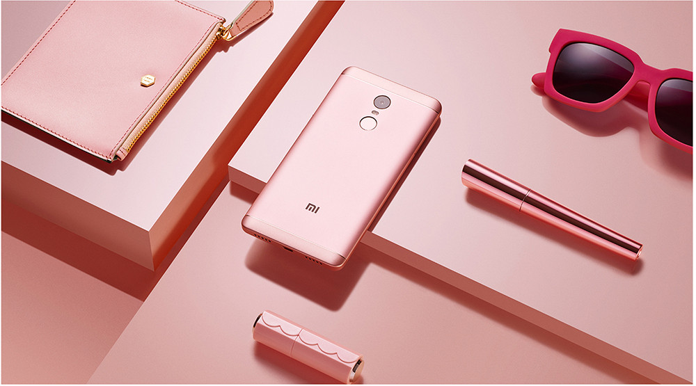 Xiaomi Redmi Note 4 4G Phablet MIUI 8 5.5 inch Snapdragon 625 Octa Core 2.0GHz 3GB RAM 32GB ROM Fingerprint Scanner 5.0MP + 13.0MP Cameras