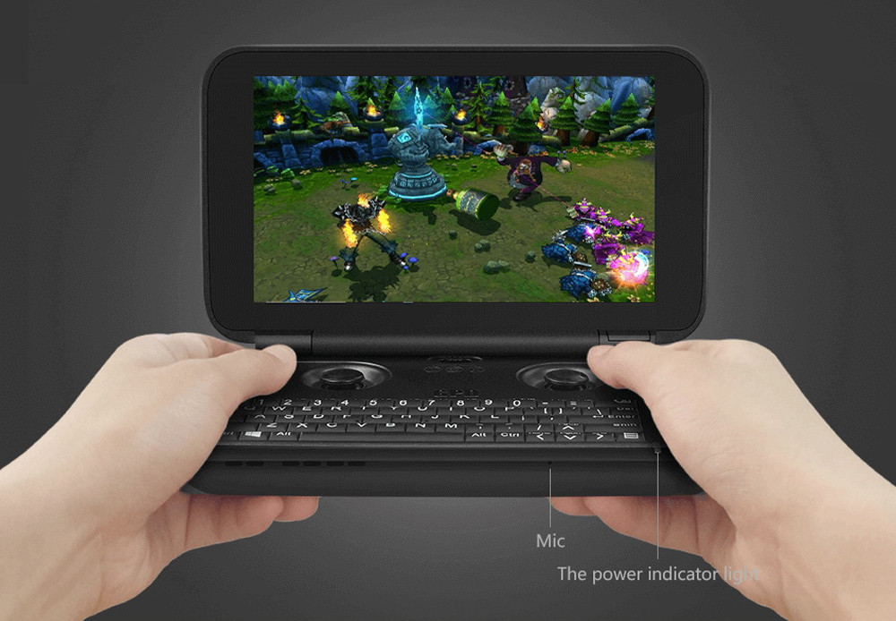 GPD Win 5.5 inch GamePad PC Game Console Windows 10 Intel Cherry Trail Z8700 Quad Core 1.6GHz In-Cell IPS Screen 4GB RAM 64GB ROM WiFi Bluetooth 4.1