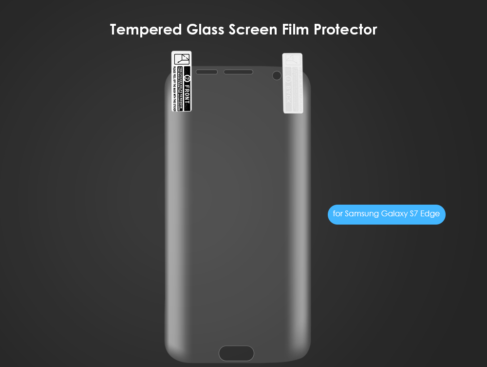 0.25mm Arc PET Full Screen Film for Samsung Galaxy S7 Edge