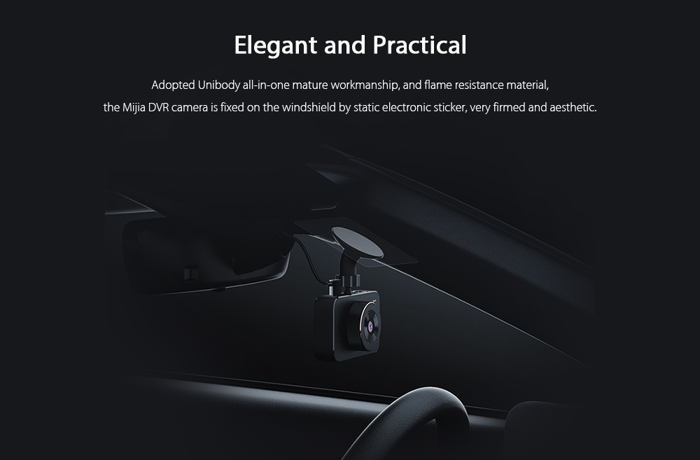 Xiaomi mijia 3.0 inch 1080P Car Digital Video Recorder with 160 Degree Wide Angle