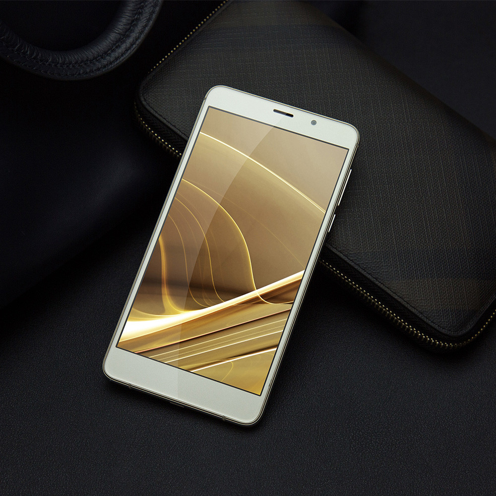Leagoo M8 Pro 4G Phablet Android 6.0 5.7 inch Corning Gorilla Glass 4 Screen MTK6737 Quad Core 1.3GHz 2GB RAM 16GB ROM 13.0MP + 5.0MP Dual Rear Cameras Fingerprint Scanner