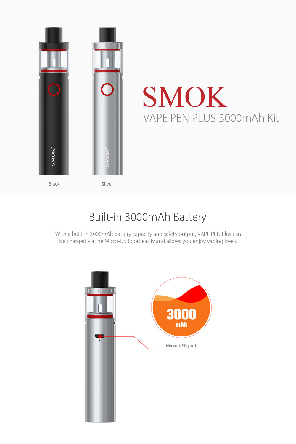 Original SMOK VAPE PEN PLUS MAh Kit Online Shopping - What is the invoice price on a car online vapor store