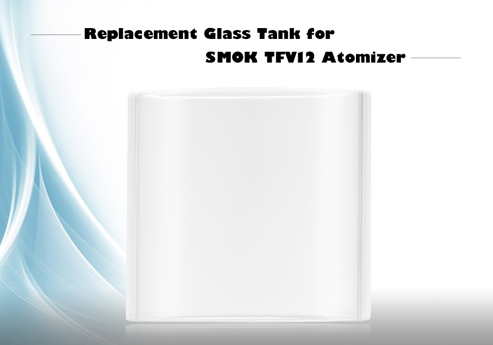 Replacement Glass Tank for SMOK TFV12 Atomizer