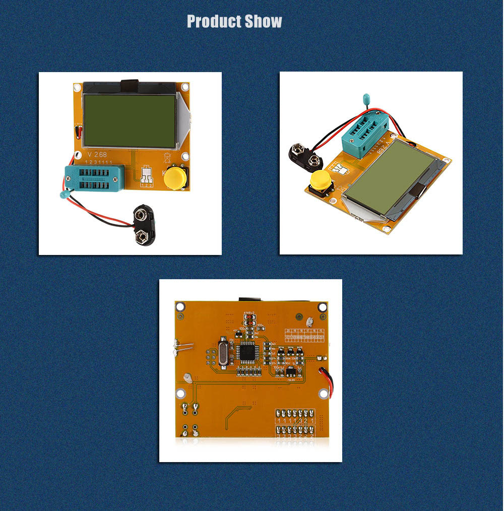 Lcr T4 H Transistor Tester Esr Scr Meter For Diy Project 837 Thyristor Product Safety Disclaimer We Do Not Accept Any Responsibility Or Liability Misuse Of This Other All Our Products Are Extensively Tested
