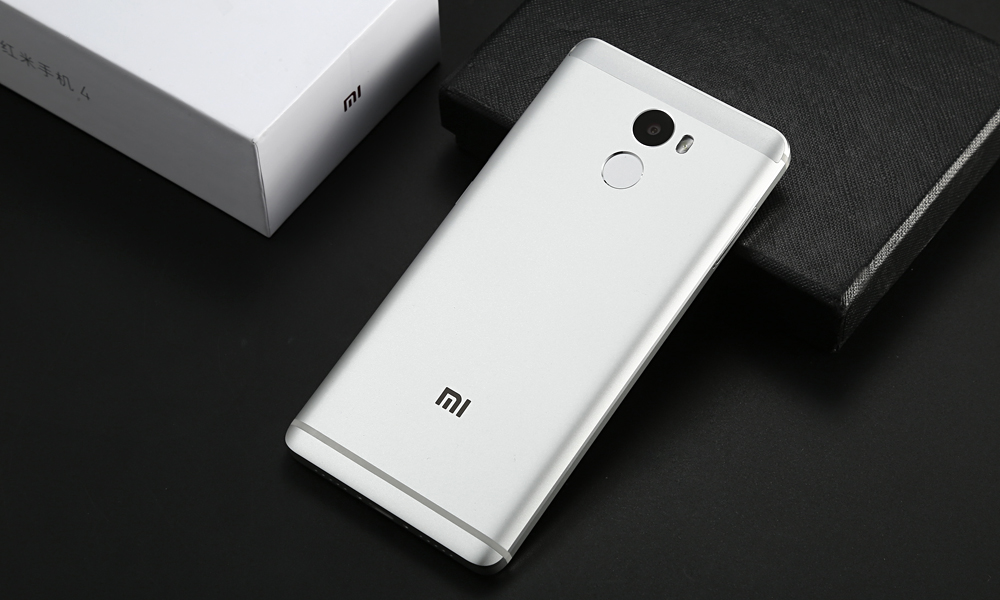 Xiaomi Redmi 4 MIUI 8 5.0 inch 4G Smartphone Snapdragon 430 Octa Core 1.4GHz 2GB RAM 16GB ROM Fingerprint Scanner 13MP Rear Camera 4100mAh Battery