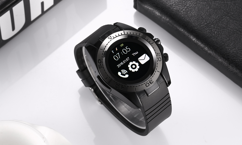 SW007 Smartwatch Phone 1.54 inch MTK6261D Camera Bluetooth Sedentary Reminder Pedometer Calendar