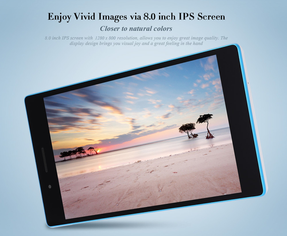 Lenovo TB3 - 850F Chinese Version 8.0 inch Tablet PC -$150