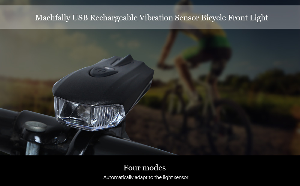 Machfally Vibration Sensor High Automation Bicycle Front