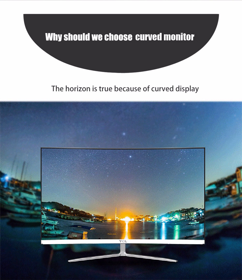 TCL T32M6C 31.5 inch LED Monitor Full HD 1080P Display