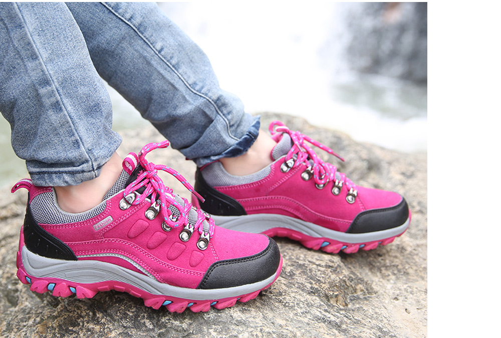 Outdoor Unisex Mountain Climbing Hiking Sneakers