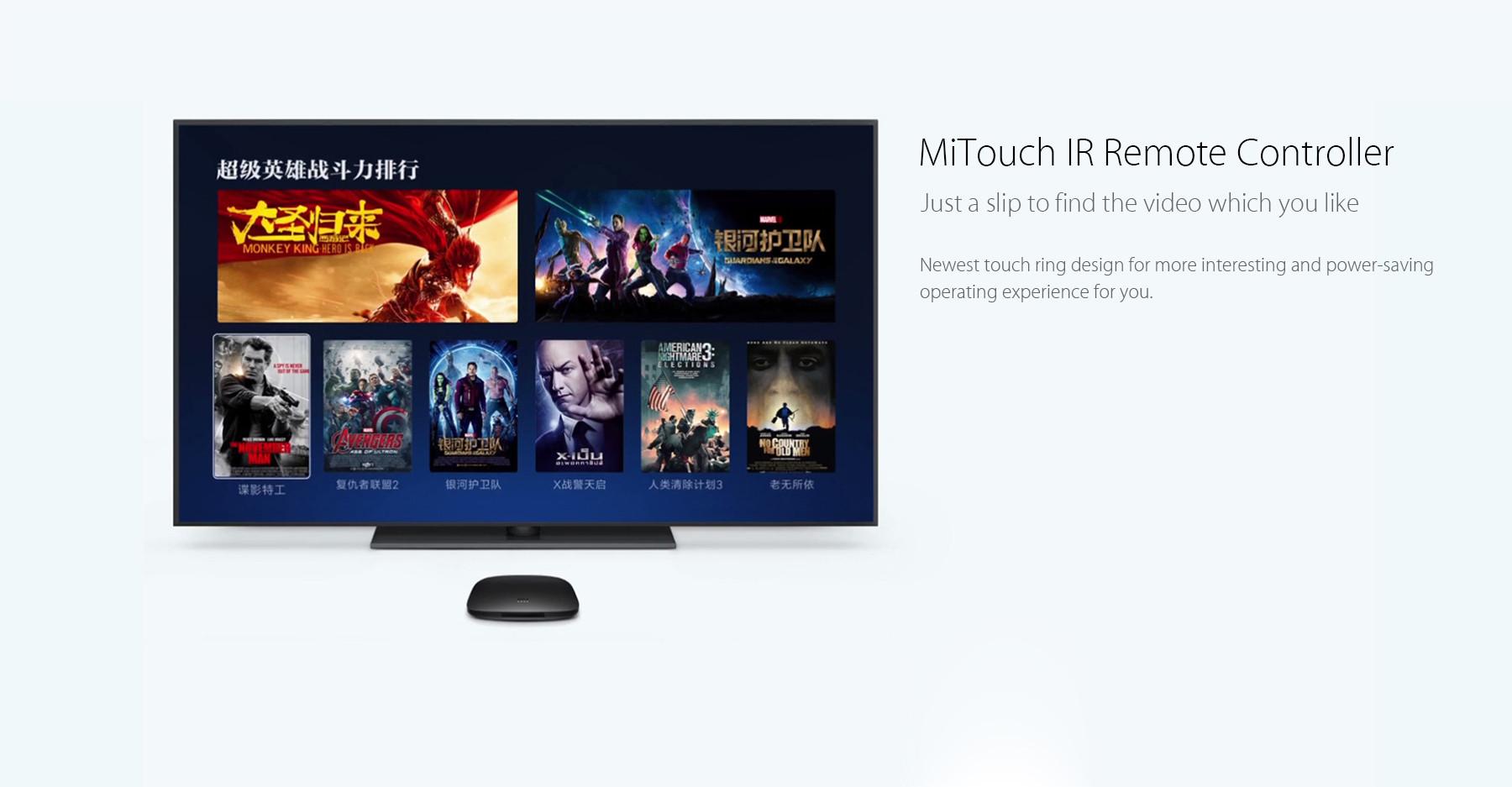 Original Xiaomi Mi 3s Tv Box Amlogic S905x Quad Core 6499 Free Controller To Control A Brushless Dc Motor Robotics Stack Exchange Package Contents 1 X Mitouch Ir Touch Remote Hdmi Cable Power Adapter Chinese Manual