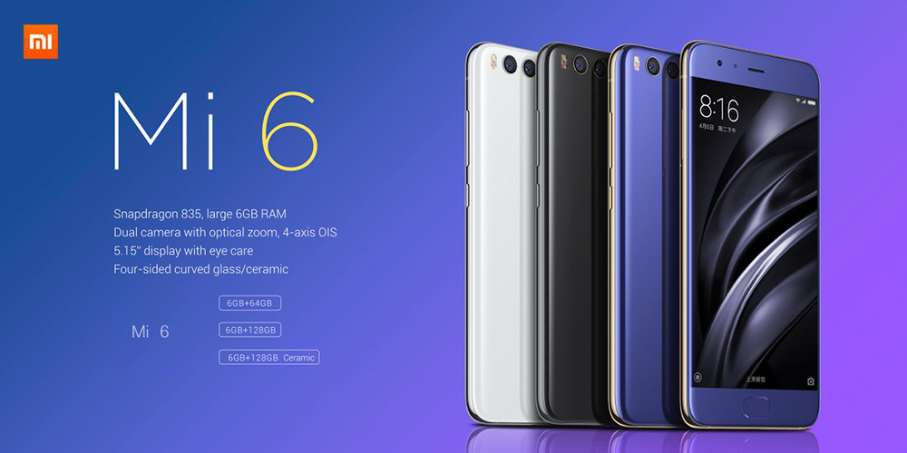 Image result for xiaomi mi6