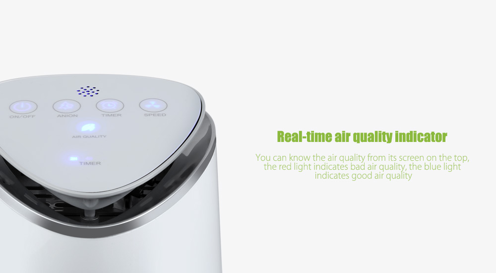 Package Contents 1 X Seebest Air Purifier English User Manual Adapter