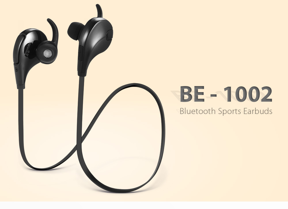 be 1002 bluetooth sports earbuds online shopping. Black Bedroom Furniture Sets. Home Design Ideas
