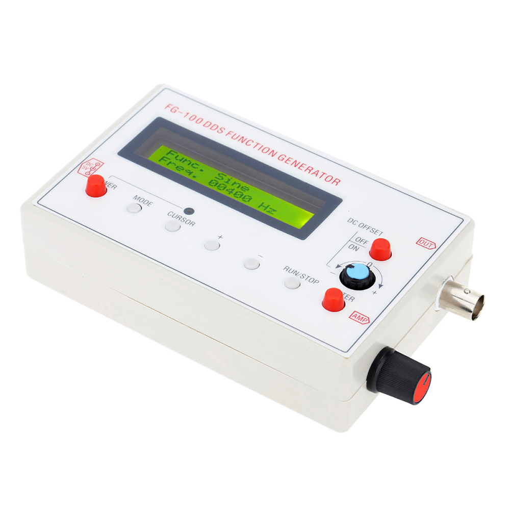 Ts Fg100 Dds 1hz 500khz Function Generator Module 3307 Free Wiring A Fish House For Signal Frequency Counter White