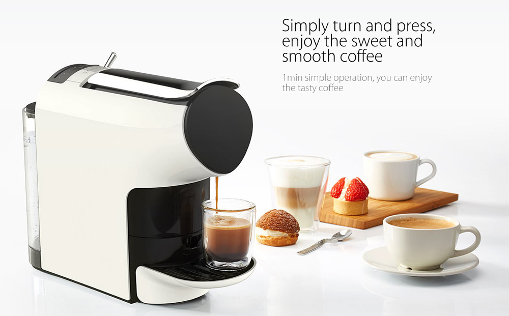 xiaomi scishare 19bar capsule automatic coffee maker espresso machine