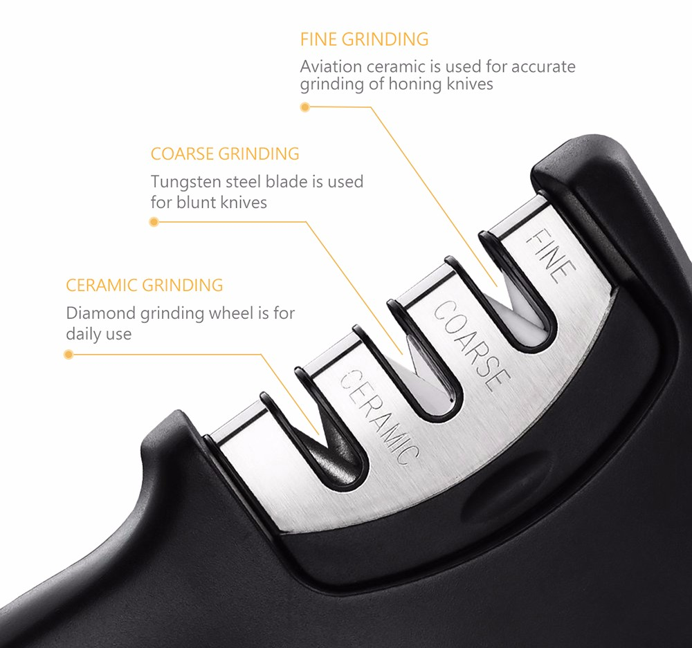 446698 Diamond Quick-acting Knife Sharpener Multifunctional Grinder