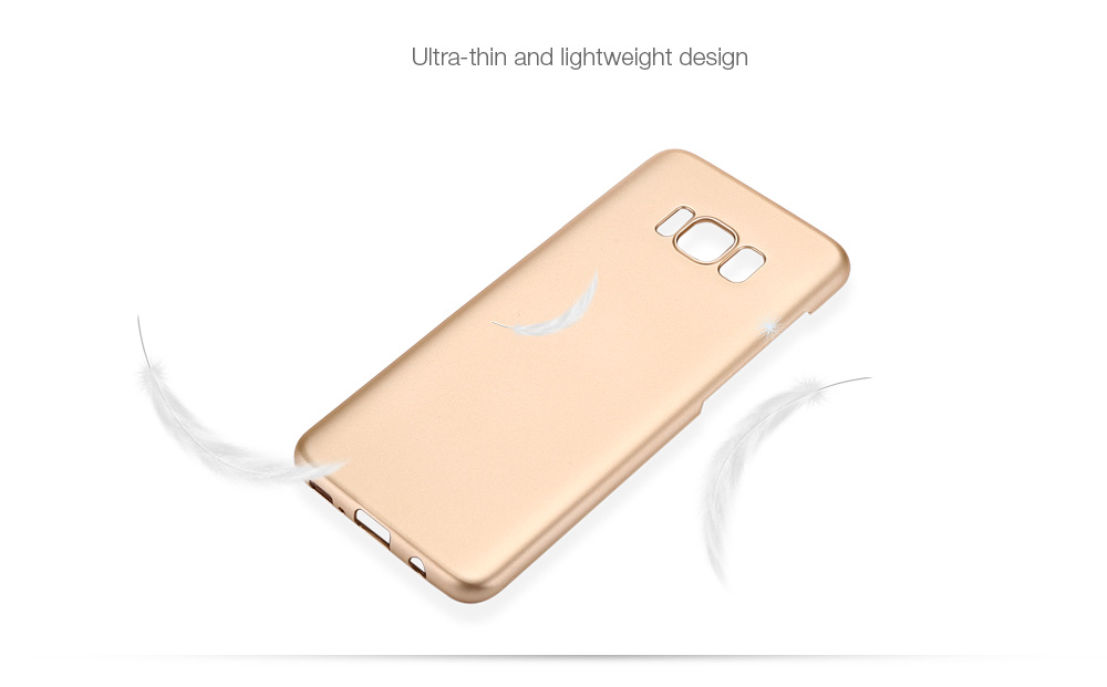 Luanke PC Hard Protective Case Phone Cover for Samsung Galaxy S8 Plus Metallic Paint Coating Mobile Shell