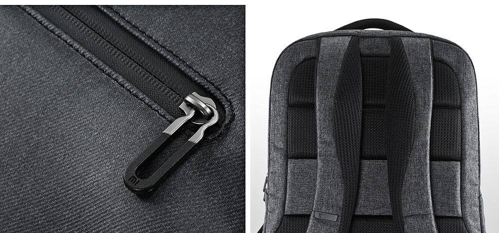Xiaomi Water-resistant 26L Travel Business Backpack 15.6 inch Laptop Bag- Black