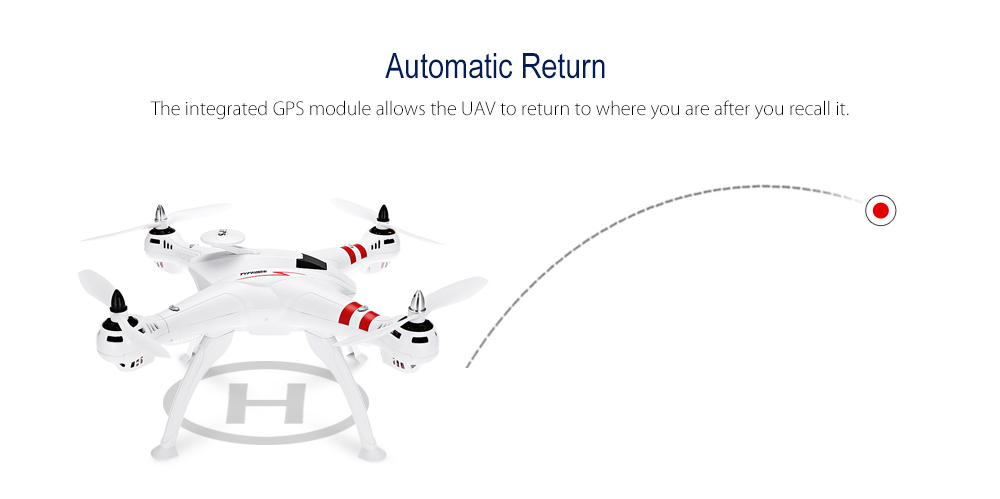 BAYANGTOYS X16 GPS Brushless RC Quadcopter RTF Geomagnetic Headless Mode / Altitude Hold / Automatic Return