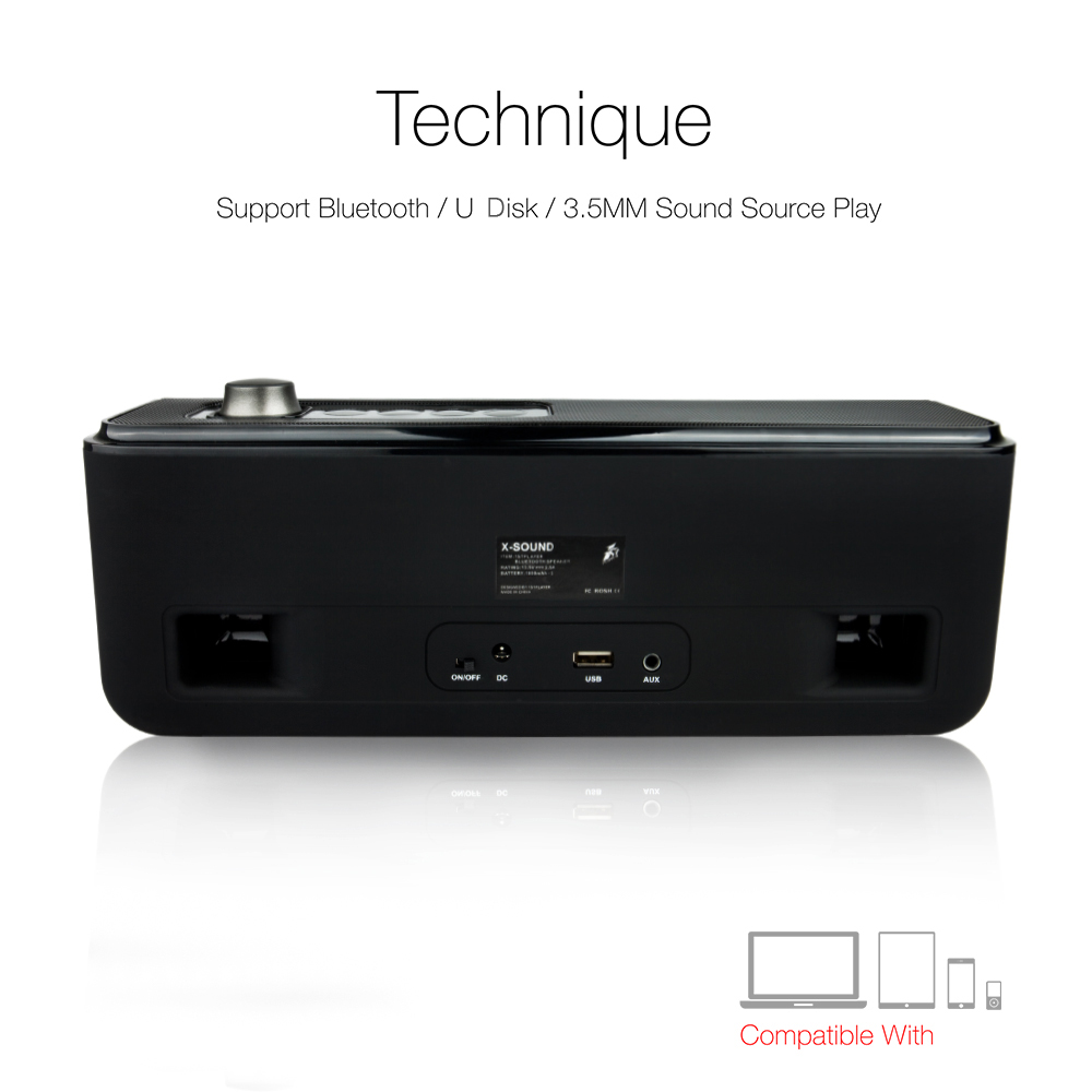 1stplayer X Sound Bluetooth Speaker Portable Wireless Stereo Circuit Board Parts Buy Vire Usb Fm Cardtv Amplifier Package Contents 1 Power Adapter