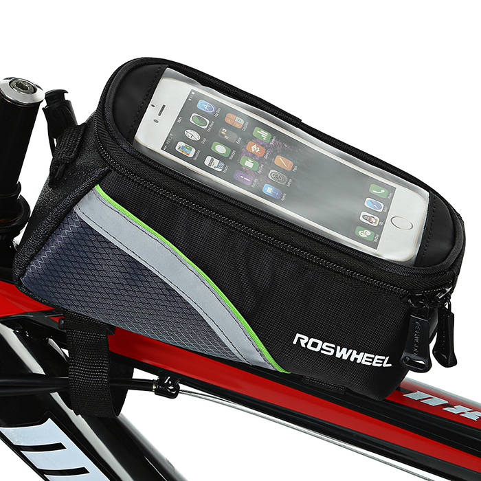 Roswheel 12496 Mountain Bike Cycling Bicycle Front Top Tube Frame