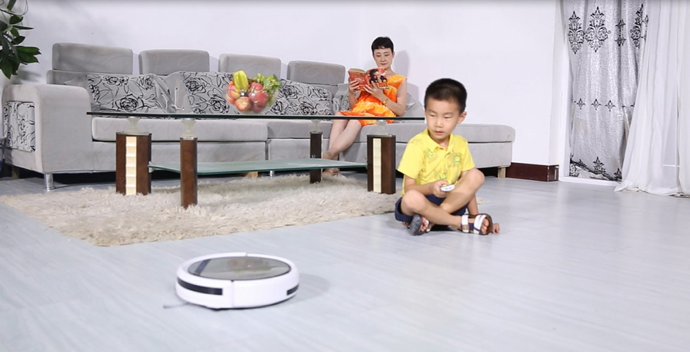 ILIFE V5 Intelligent Robotic Vacuum Cleaner Set LCD Touch Screen Self-charge Ultimate Filter Sensor Remote Control Robot Aspirador