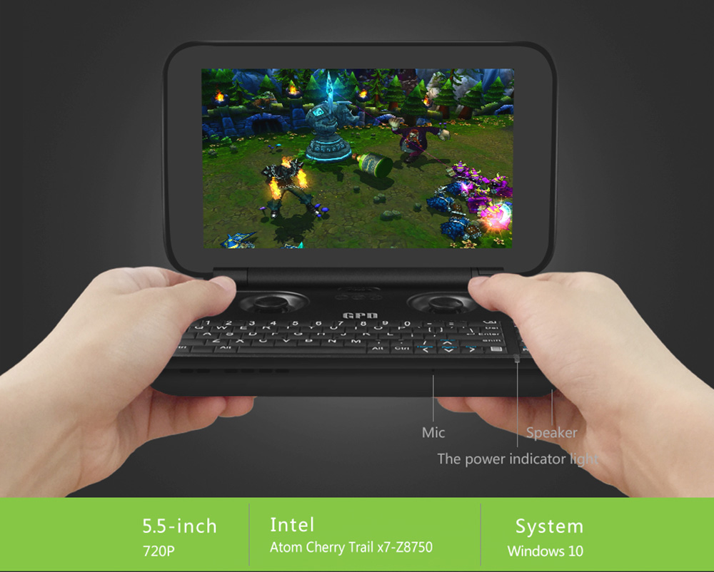 GPD WIN Handheld PC Game Console | Gearbest