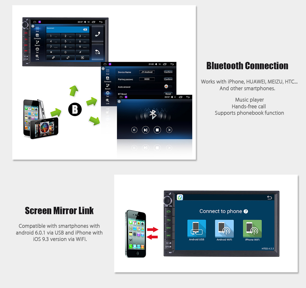Joyous J 2820hn Android 511 Car Gps Navigator Dvd Player Diagram Electronic Canary Also Iso Din Connector Wiring Package Contents 1 X Harness Antenna External Microphone English Manual