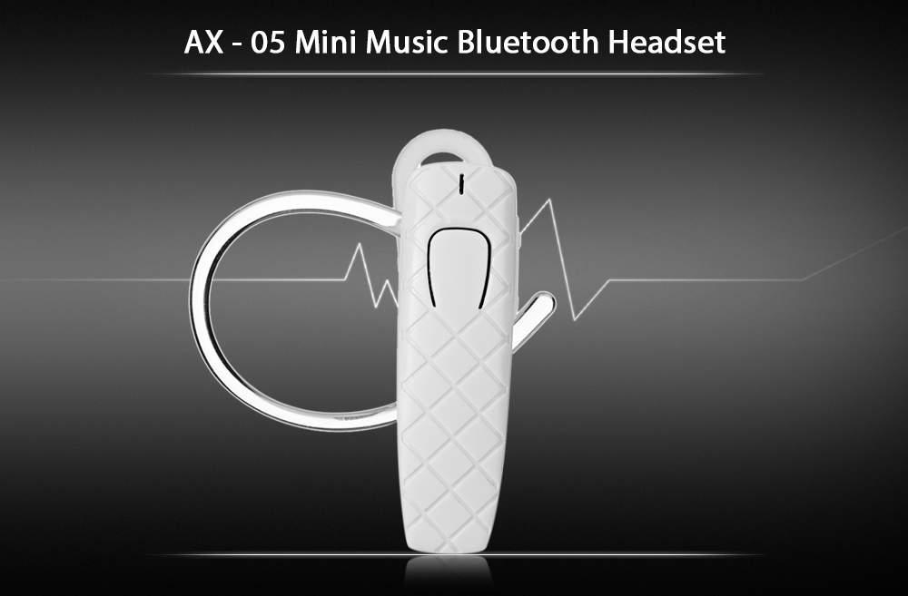 AX - 05 Mini Music Bluetooth Headset with Hands-free Call