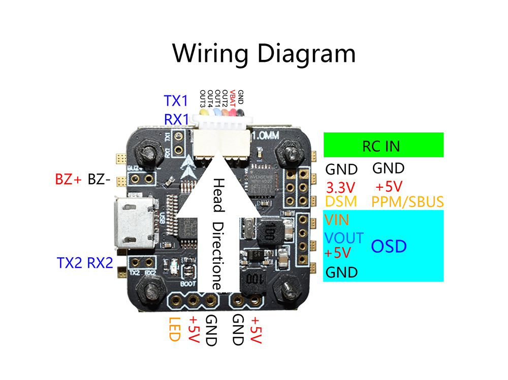 1497953336759834 mini omnibus f3 brushless fc with integrated osd $13 99 online omnibus f3 wiring diagram at virtualis.co