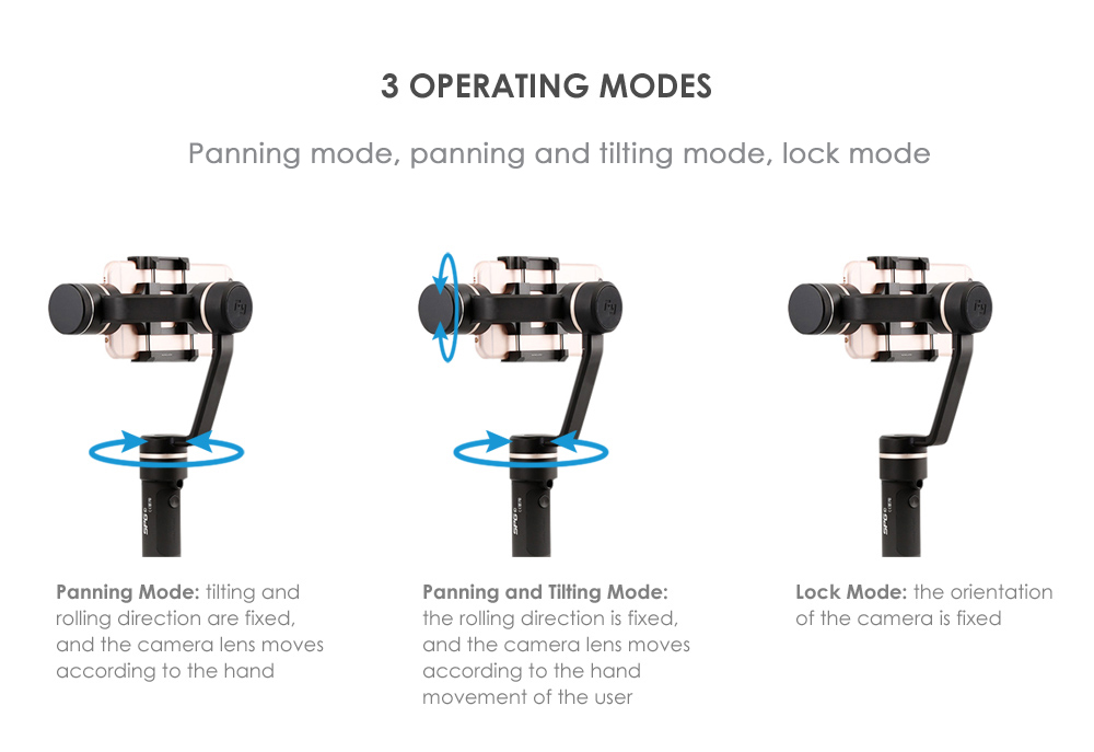 FY FEIYUTECH SPG C 3-axis Stabilized Handheld Gimbal for Smartphone with Multiple Working Modes