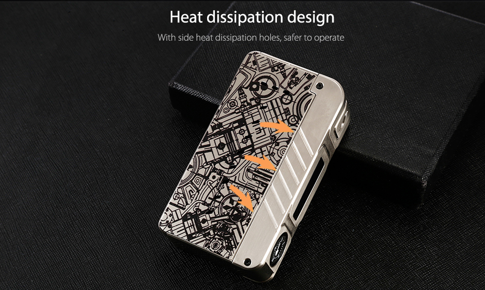 Dovpo M VV Box Mod Heat Dissipation Design